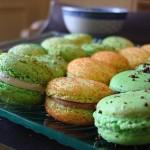 macarons-au-chocolat-pistache-vanille
