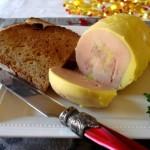foie gras mi cuit en tranches et son toast