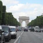 Paris, Champs Elysées, arc de triomphe,