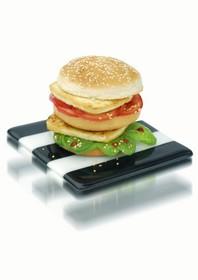 Marc VEYRAT hamburger vegetal
