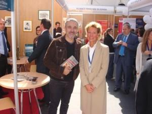 place colon Madrid con el courrier d'Espagne le 3 octubre 2008
