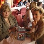 Laurence BOCCOLINI et Pierrette le 3 juillet 08 à PARIS