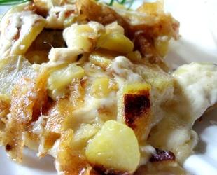 Recette legume recette fromage truffade - Recette de cuisine simple avec des legumes ...