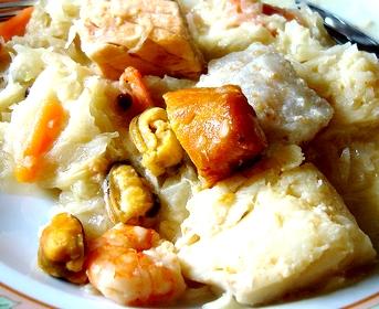 Choucroute de poissons for Plat cuisine francaise