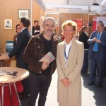 salon toute la france à Madrid sergi-AROLA et-le-guide de Pierrette