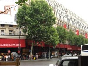galerías lafayettes haussman, Paris