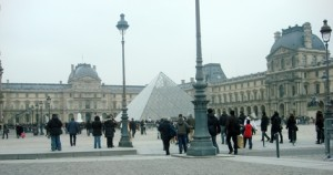 Paris- von der Pyramide louvre - www.cuisine-francaise.org und www.rezeptküche.biz