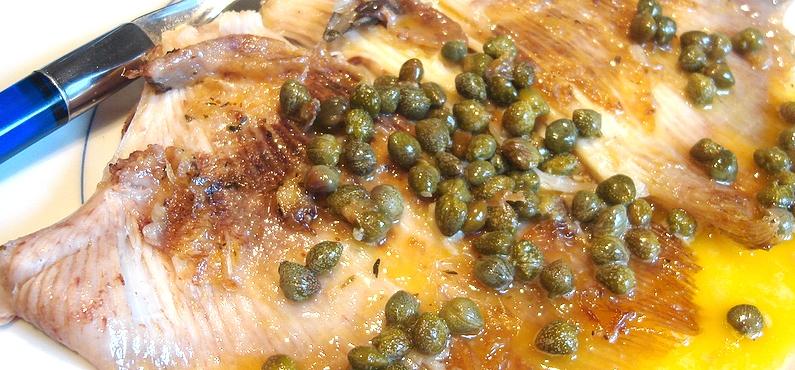 Aile de raie recette blog cuisine - Blogs recettes de cuisine ...
