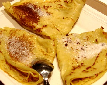 Crepes ricetta in lingua francese