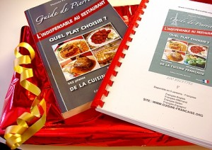 coffret cadeau, cadeau femme, guide et recette , www.cuisine-francaise.org