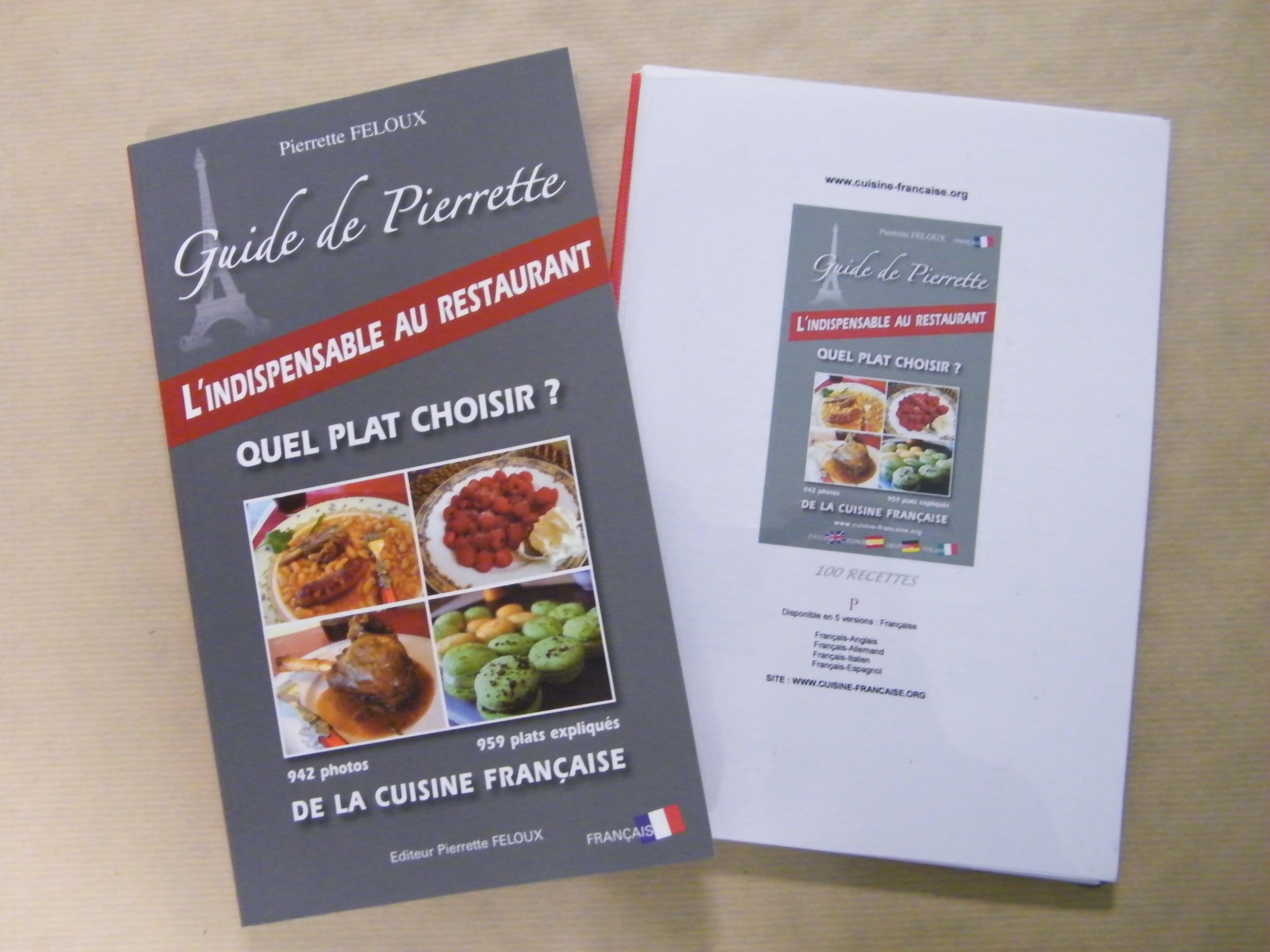 livre de cuisine fran aise en anglais