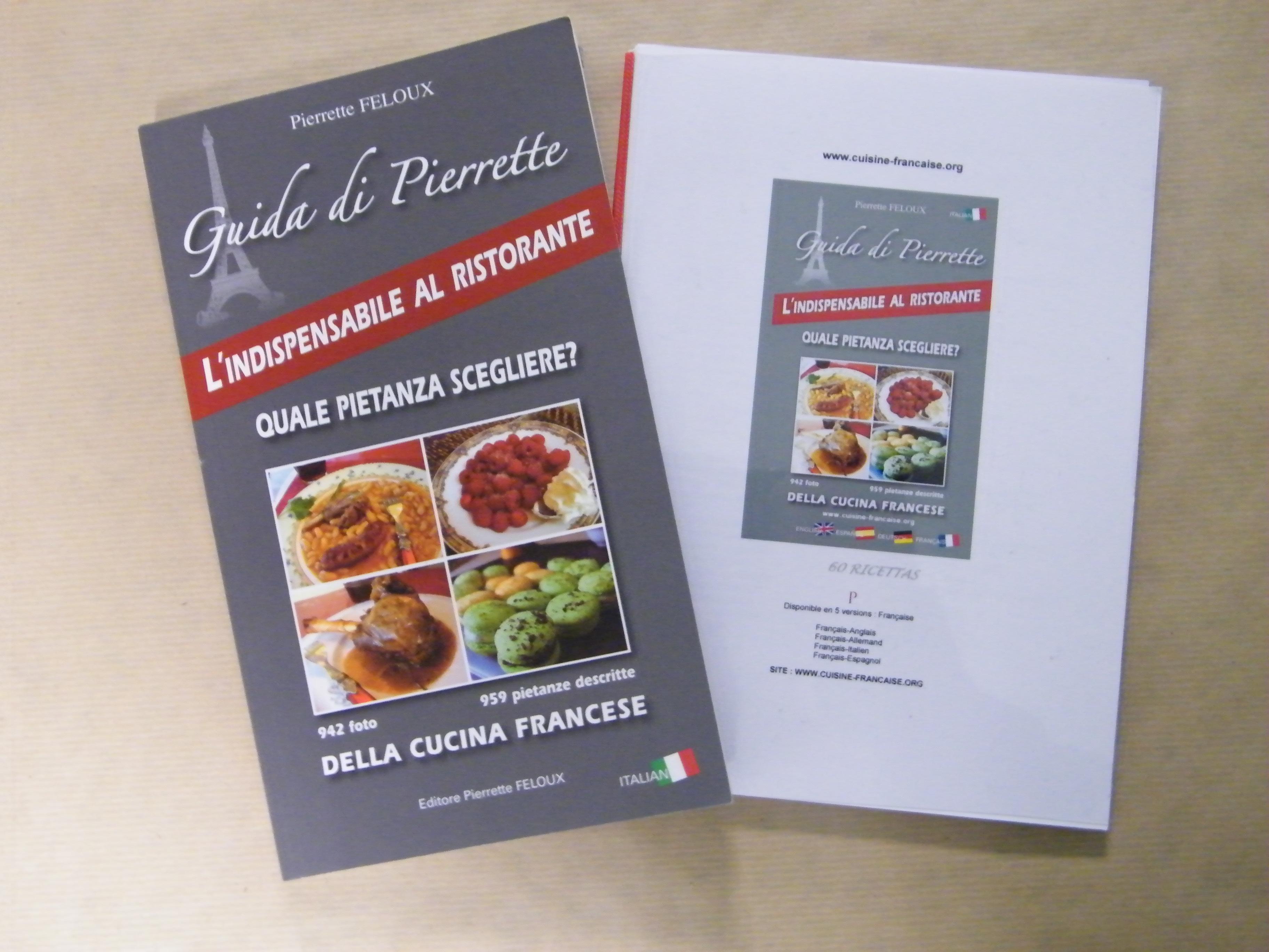 Livre De Cuisine En Italien