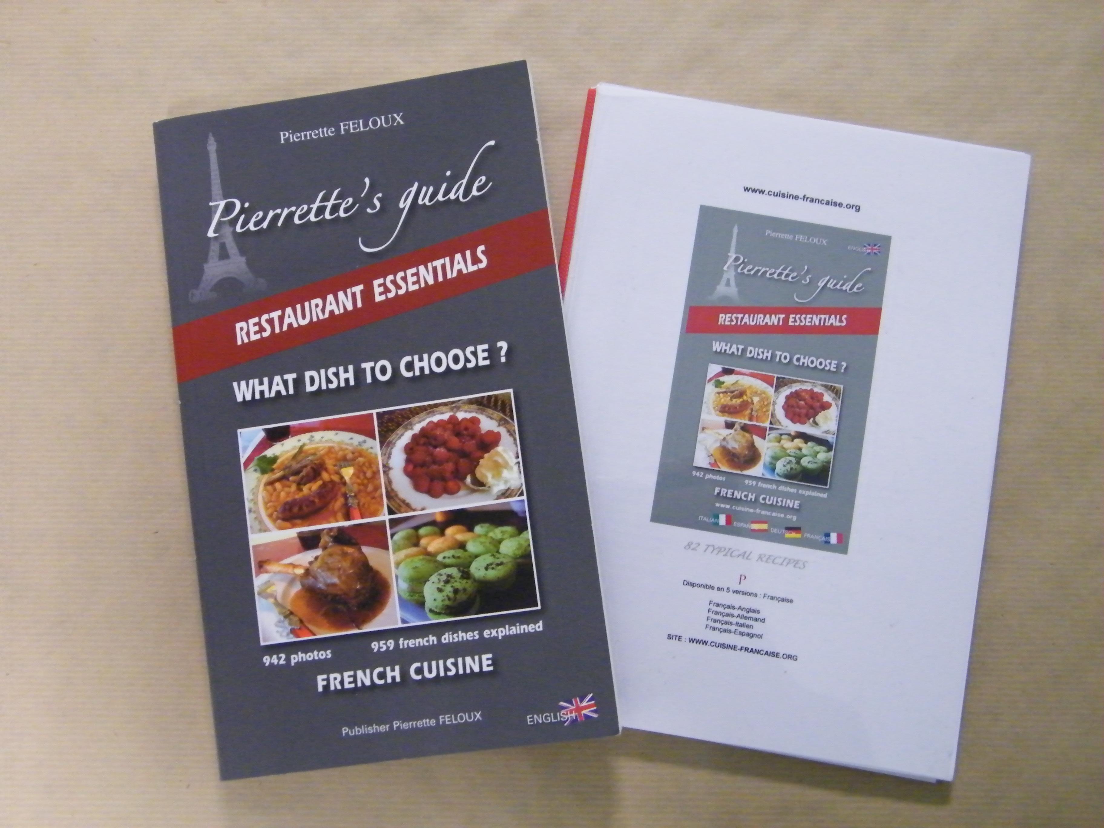 traduction gastronomique francais allemand